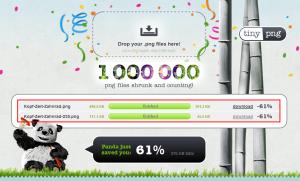 PNG-Online-Komprimierung: www.tinypng.com