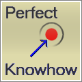 Apple Touch Icon der Perfect Knowhow Internetseite